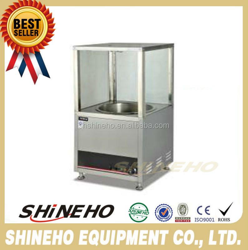 W377 Finely Processed Counter Top Stainless Steel 1 Boiler Eletric Chestnut Machine