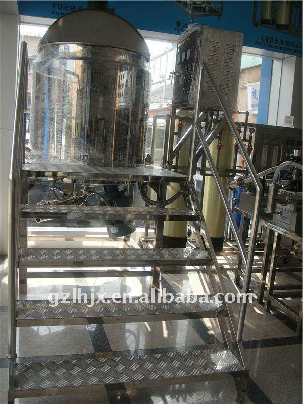 Guangzhou Hot-sale Automatic Liquid Soap Making Machine,Shampoo&Oil Production Line