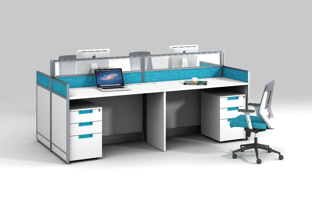 Scrivania Ufficio Occasione : Blu colore bianco utilizzato divisori per ufficio workstation da