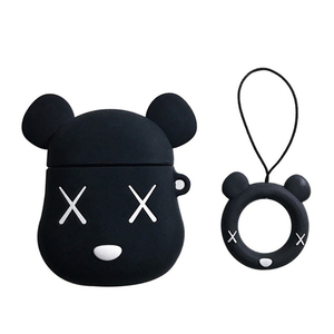 2019 Cute Cartoon airpods Case earphones Silicone Protective Cover Charging Headphones Case