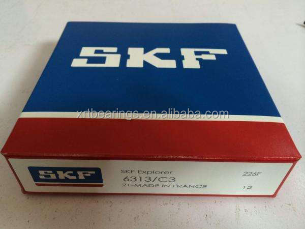 SKF 6313-C3 Hot sell high qulaity bearing price list SKF 6313/C3 deep groove ball bearings size 65*140*33 mm