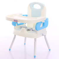 New Model high quality baby feeding chair portable children chair and table