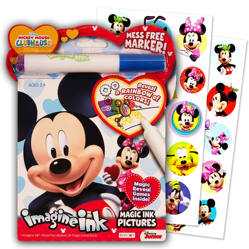Buy Disney Mickey Mouse Clubhouse Imagine Ink Coloring Book And