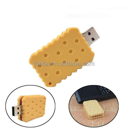 Cookies model USB 2.0 / 3.0 Memory Stick Flash pen Drive