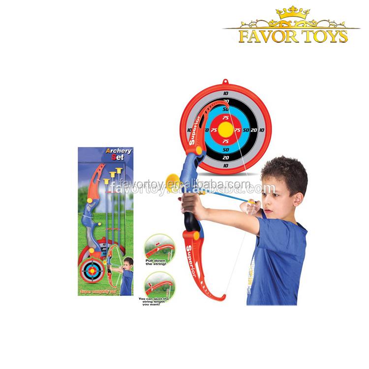 Plastic Soft Slingshot Arrow Set Kids Children  Educational Outdoor Toy Gift