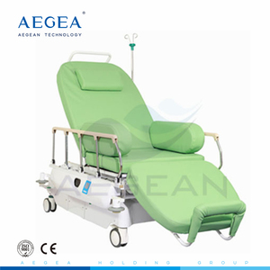 AG-XD207 Two motors electric phlebotomy blood transfusion chair for sale