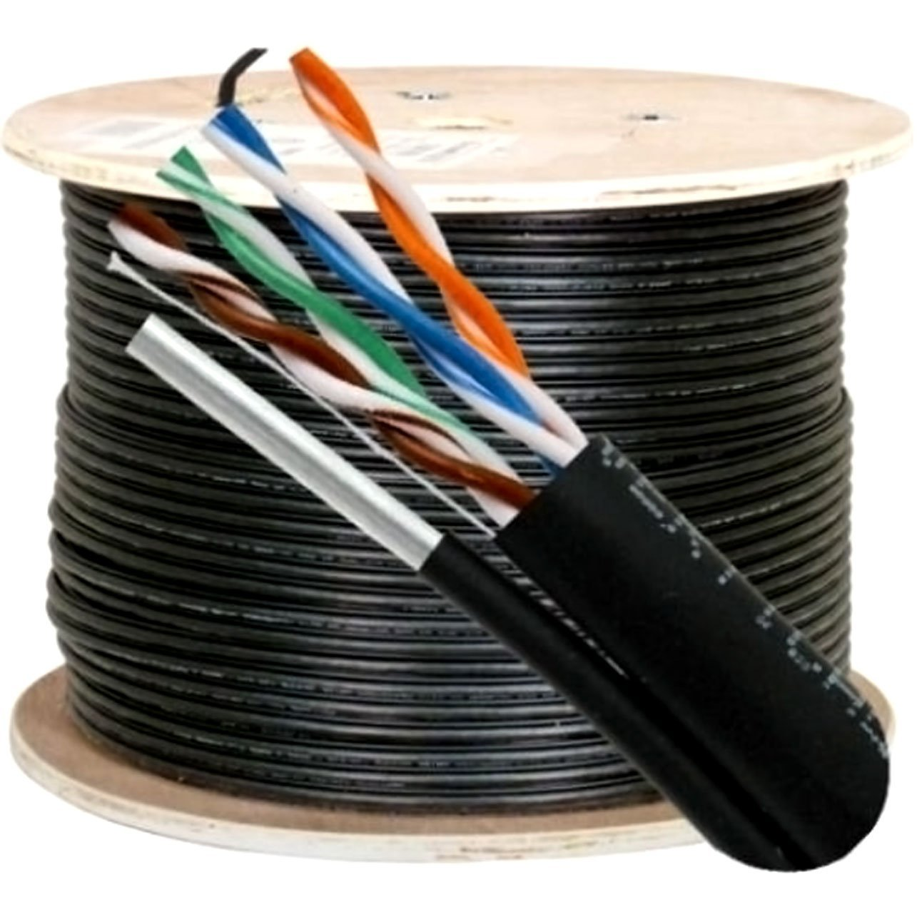 Get Quotations · Vertical Cable Cat5e, 350 Mhz, UTP, UV Jacket, Outdoor,  CMX,