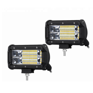 USA FREE SHIPPING 4x4 Automotive Led Light 5Inch 72w 24V Super Bright Flood Led Work Light Bar