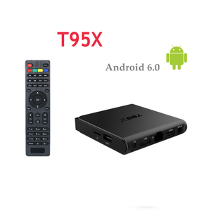 T95X Android 6.0 Amlogic S905X Smart TV Box +UK Germany Italy French Arabic channels over 1200 adult channel optional
