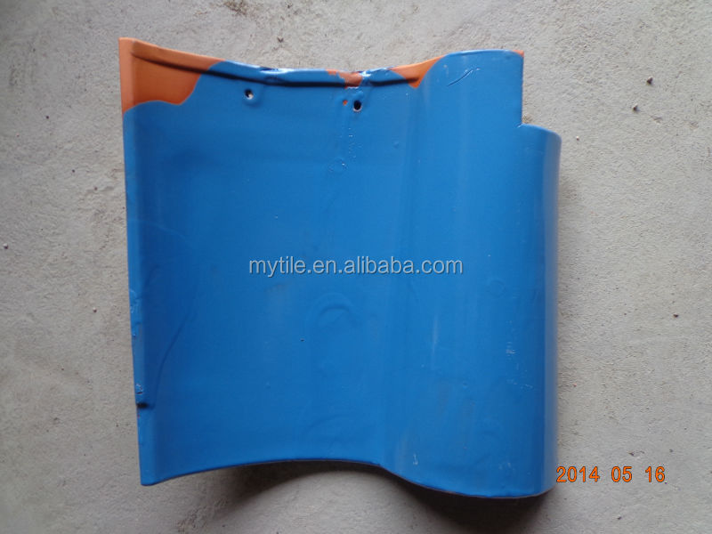 Spanish Clay Roof Tile,Blue Roof Cover