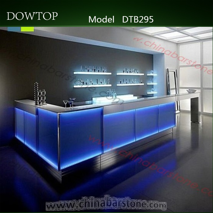 2017 nouveau design petit led accueil comptoir de bar. Black Bedroom Furniture Sets. Home Design Ideas