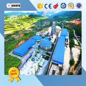 600tpd to 10000tpd mini cement plant / cement clinker grinding plant for sale