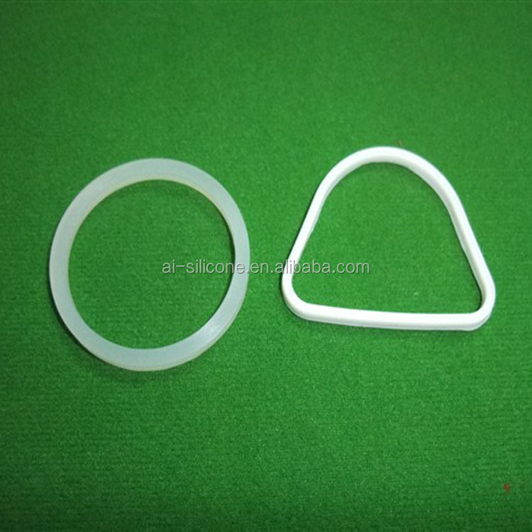 china supplier custom solid oval rubber grommet