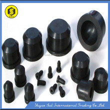Auto rubber part/conductive silicone components for custom molded rubber