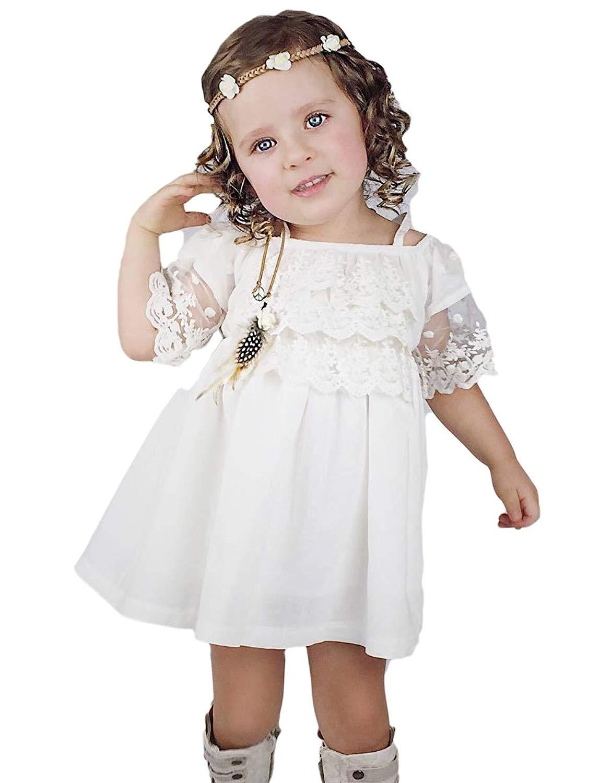 Cheap cute little girl dress patterns find cute little girl dress get quotations simlehouse little girl boho short flower girl dress cute baptism dress 2018 izmirmasajfo