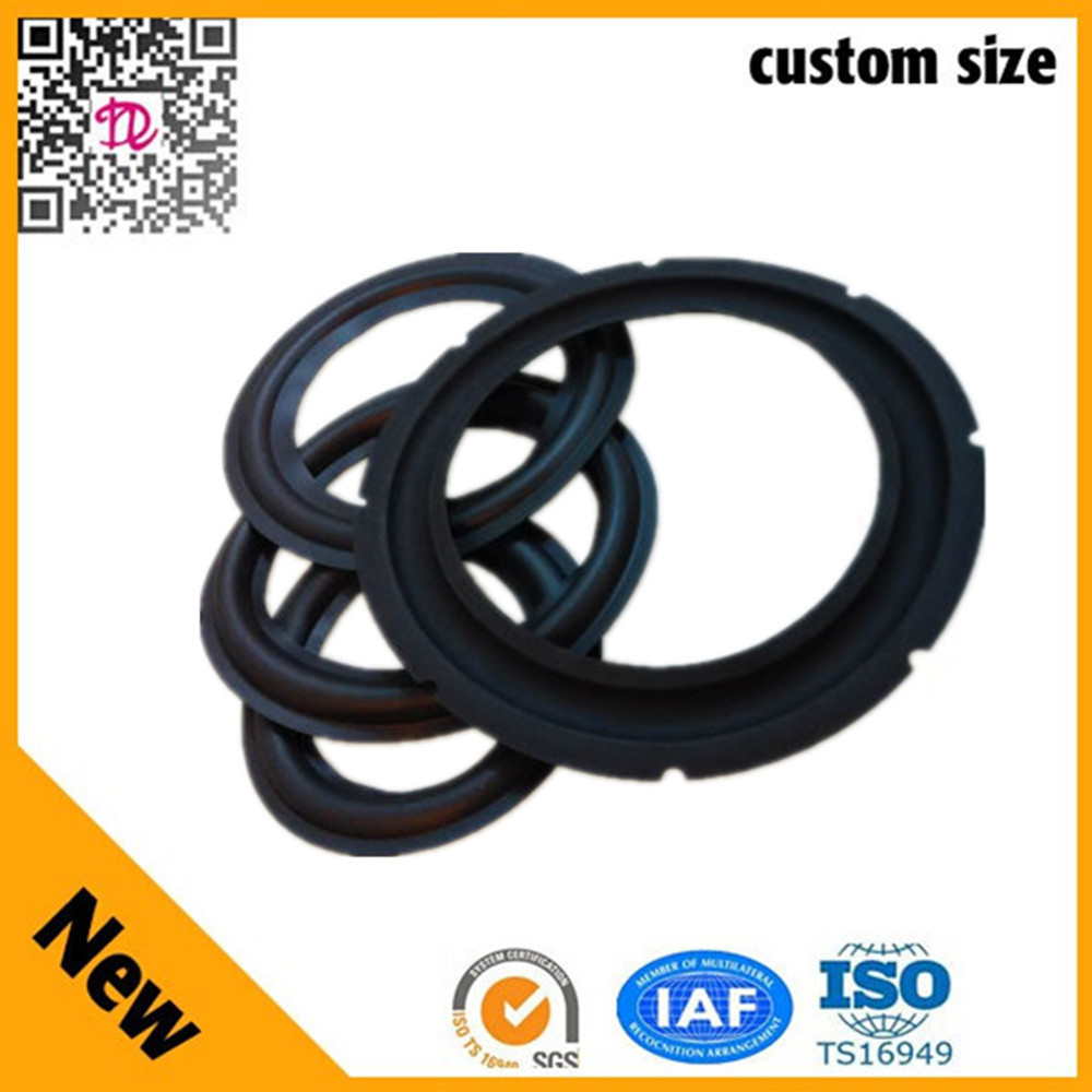 2015 New Product 15 inch Horn Speaker parts Type Rubber Speaker Surrounds