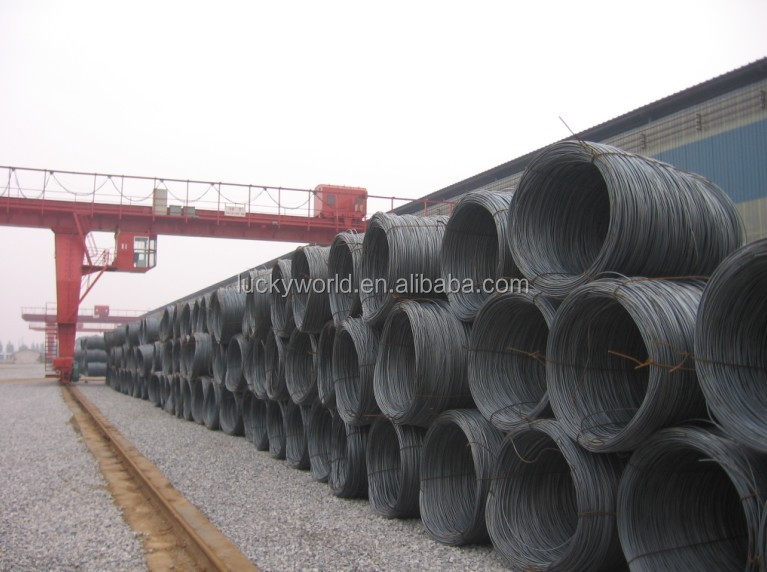 hot sales SAE1008 wire rod 12mm low carbon wire rod