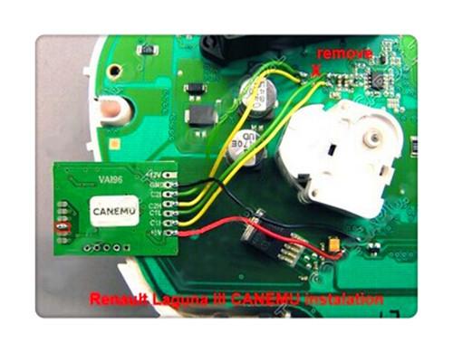 Лучшее качество CANEMU может для Renault Laguna iii, Megane iii, Живописные III сканер инструмент бесплатная доставка