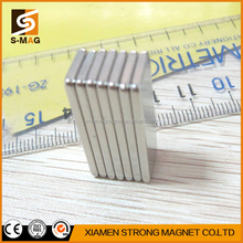 High quality n52 nickel coating neodymium bar magnet for sale