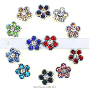The lowest price of China 8mm DIY Slide Charm for bracelet, pet collar