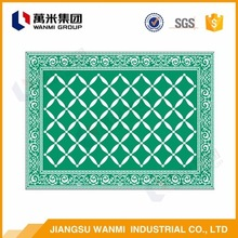 2016Global Famous Brand plastic carpet table mat