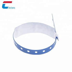 Passive blank rfid smart ID bracelet wristband for spa room