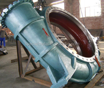 OEM large cast iron / cast steel pump casing