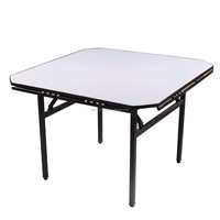 Square fold away office folding table folding high top tables