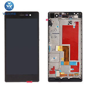 LCD Touch Screen Display Digitizer Replacement For Huawei Ascend P7 LCD  Backlight Assembly