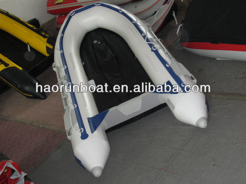 3.6m 2013 new pvc inflatable aluminum floor motor boat inflatable rib boat