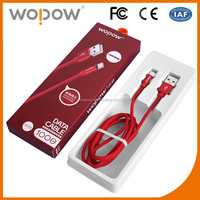 Wopow LB105 New design fast charging 8 pin data sync cable for iphone