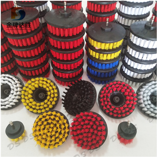 Many Different Sizes and Colors Crimped Wire Electric Turbo Spin Power Scrubber