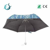 Full body printing light mini 3 fold umbrella for sale