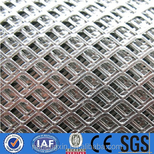 High quality protective sheet expanded metal mesh/steel sheet tensile net for external wall