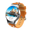 Aipker new 3G watch hand watch mobile phone price,heart rate monitor wifi Android smart watch KW98 with leather starp