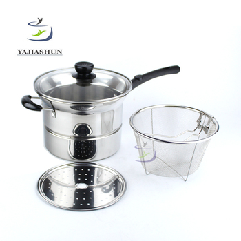 Good Quality Cheap Price Noodle Cooking Pots Glass Lids Stainless
