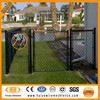 China Alibaba supplier galvanized & black dog proof chain link fence