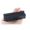 Portable mini portable magnetic stripe card reader / cheap black magnetic card reader