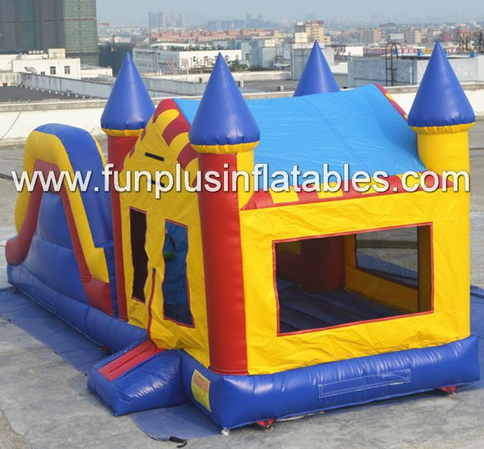 commercial inflatable jumper/slide,giant inflatable combo bouncy castle F3003