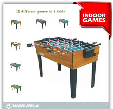 Winmax multi game table for adult multi-purpose game table 12 in 1 multi game table