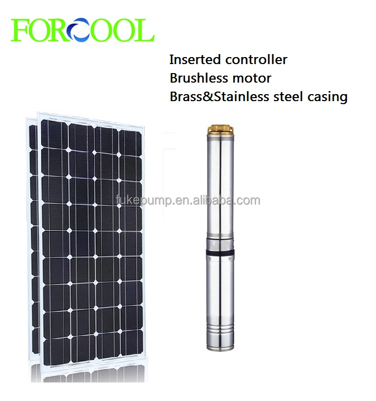 solar submersible pump brushless motor excellent performance