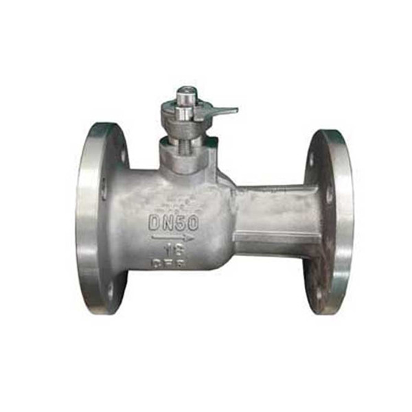 WCB high temperature flanged end integrated ball valve