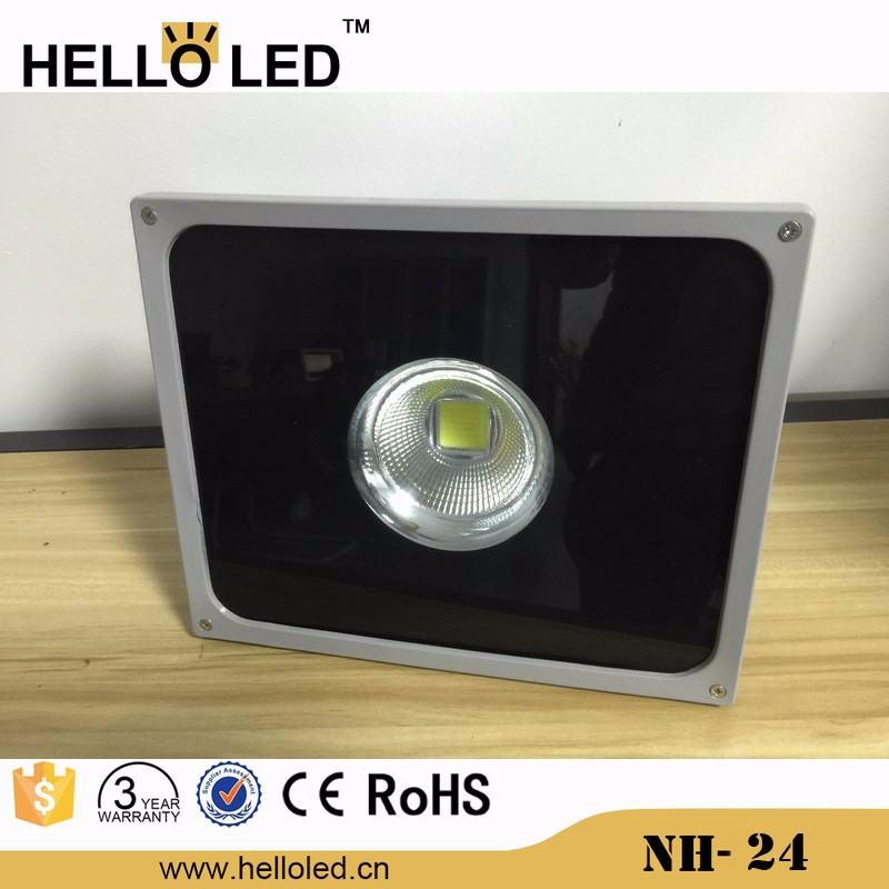 NH-24 narrow beam led flat spot lights outdoor 50w led projector lights