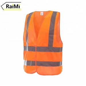 China Factory Wholesale fluorescent safety cycling vest reflection