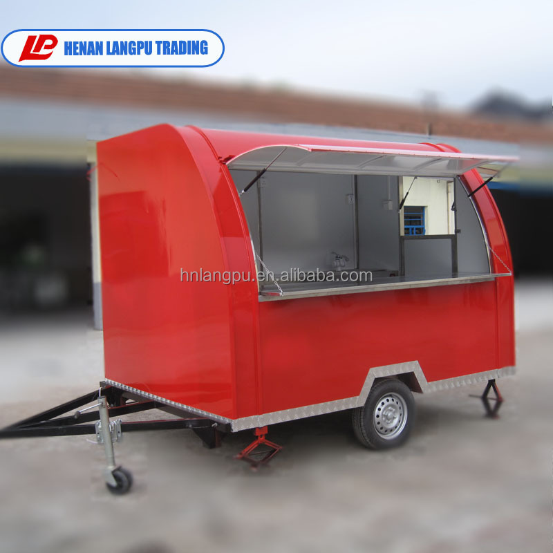 China factory directly supply Mobile food cart price