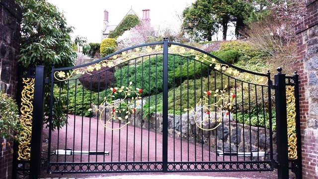 wrought iron gate accessories