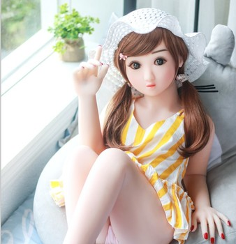 Cheap Real Young Girl Mini 100Cm Flat Chest Loli Sex Doll