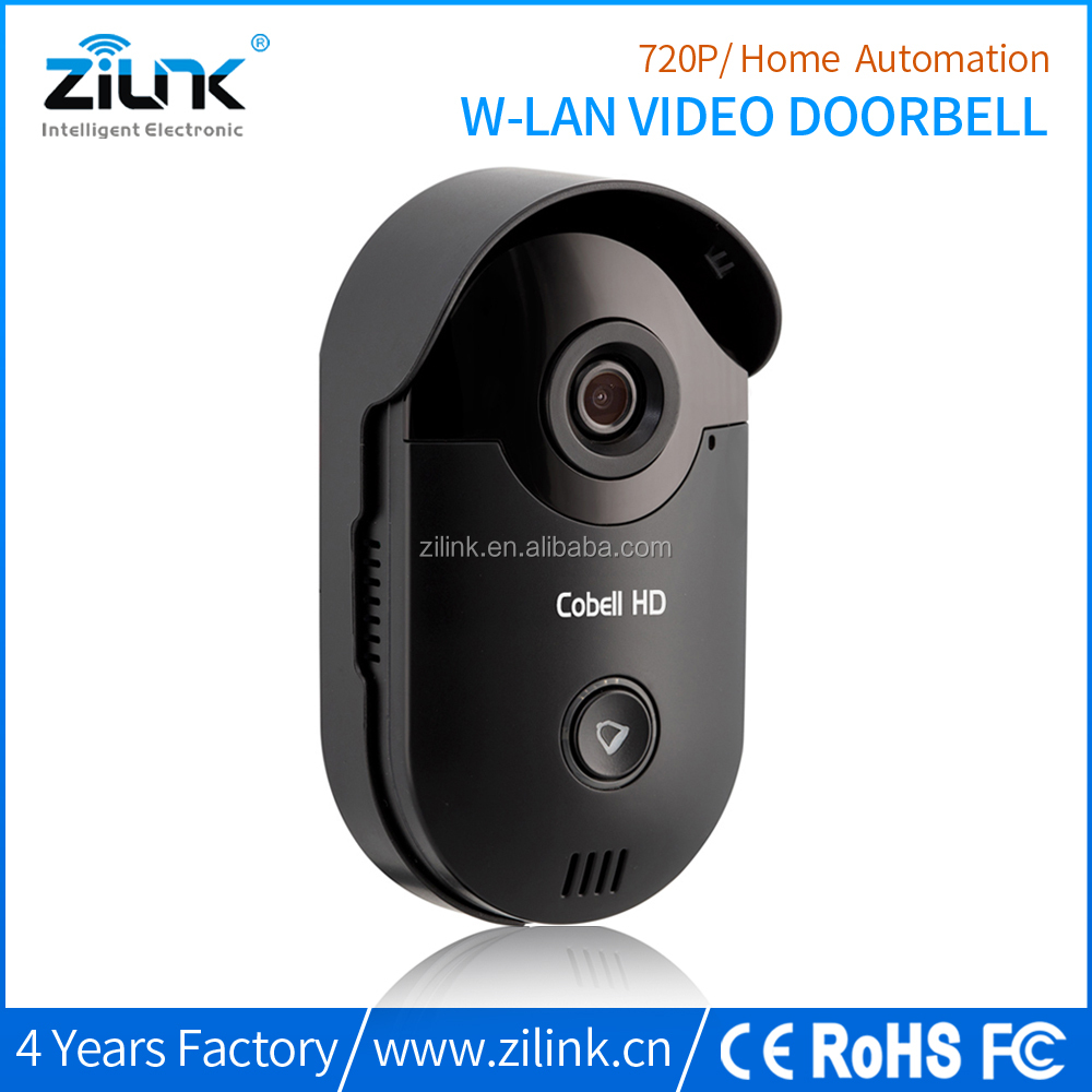 Ring Tone Cobell HD wifi doorbell, p2p mini smart home security door camera video door phone