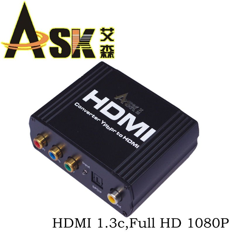yuv to hdmi converter box with Coax+SPDIF switch input