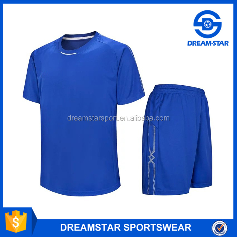 Customize Men's Soccer Jerseys Young Soccer Suits Soccer Training Uniform Style